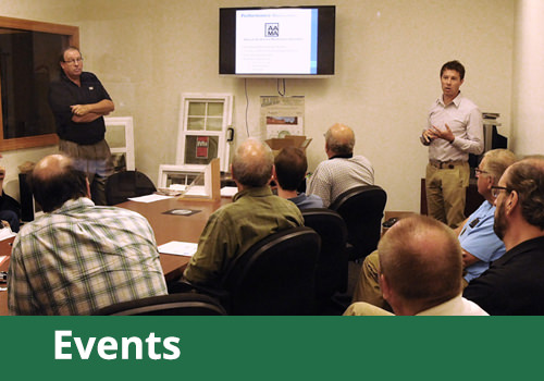 View our Events products